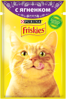 Корм для кошек Friskies Ягненок в подливе (85г) -