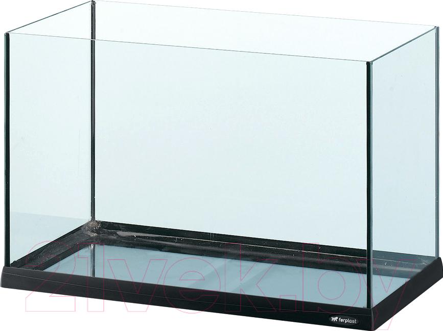 Купить Аквариум Ferplast, Tank 60 / 65069017 (черный), Италия, стекло