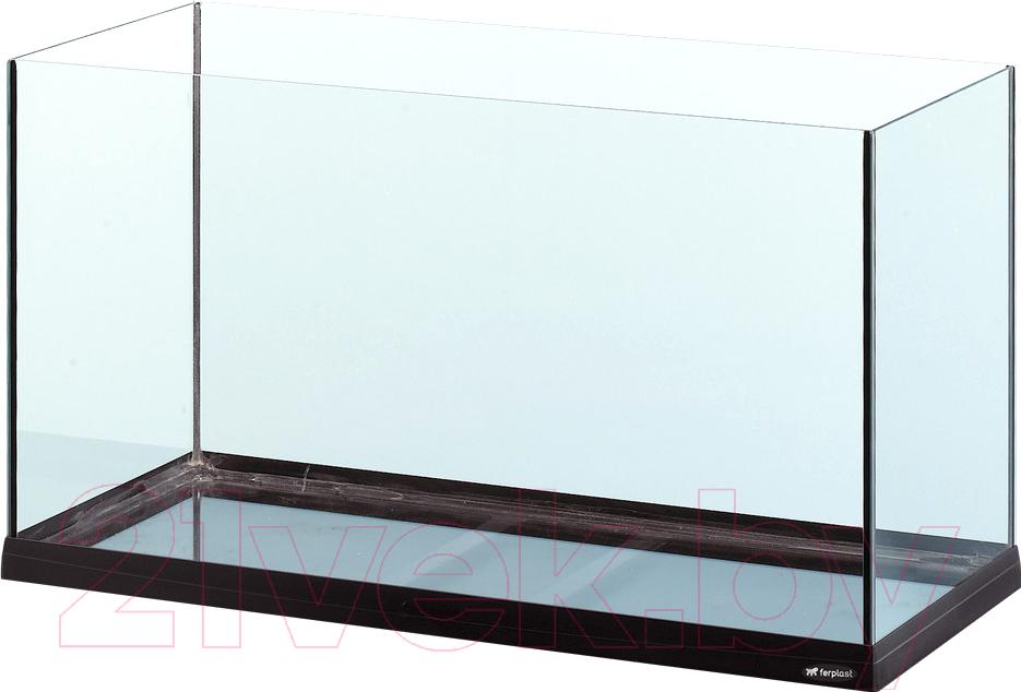 Купить Аквариум Ferplast, Tank 80 / 65089017 (черный), Италия, стекло