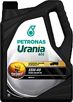 Моторное масло Urania 800 15W40 / 21405019 (5л) -
