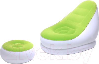 Надувное кресло Bestway Comfort Cruiser Inflate-A-Chair 75053 (зеленый)