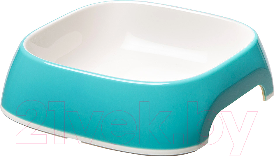 Купить Миска для животных Ferplast, Glam Medium (0.75л, голубой), Италия, пластик