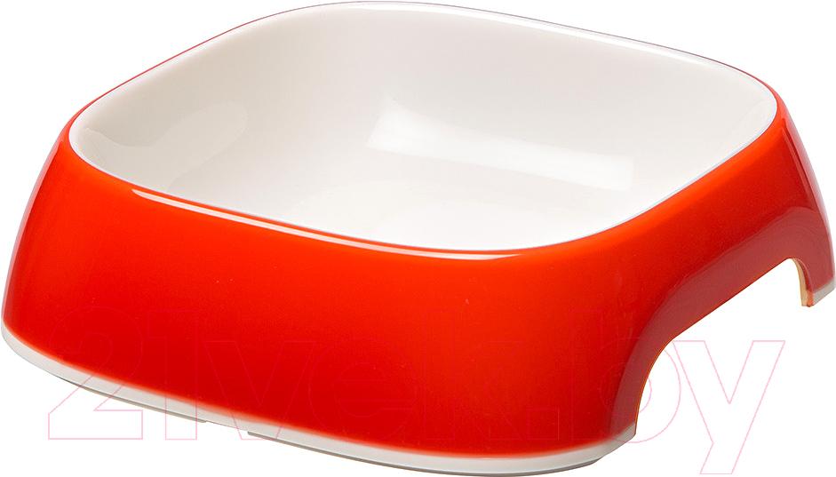 Купить Миска для животных Ferplast, Glam Medium (0.75л, красный), Италия, пластик