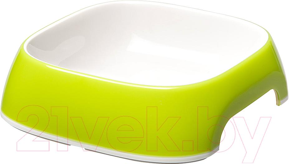 Купить Миска для животных Ferplast, Glam Medium (0.75л, лайм), Италия, зеленый, пластик