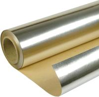 Фольга алюминиевая техническая Howard На крафт бумаге 1200мм (30м2) -