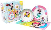 Набор столовой посуды Disney Минни русалочка. Минни Маус / 4704355 -