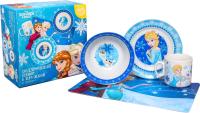 Набор столовой посуды Disney Winter Magic Холодное сердце / 4704350 -