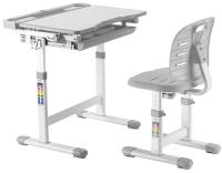 Парта+стул Растущая мебель B204S (серый) -