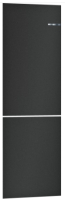 Декоративная панель для холодильника Bosch KSZ2BVZ00 (черный матовый) -