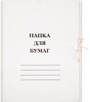 Папка картонная Attache 1029116 (белый) -