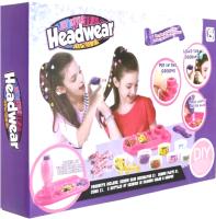 Набор детской декоративной косметики EstaBella Для волос с блестками и бусинками / 80375 -
