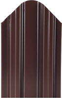 Штакетник металлический МКтрейд Константа Эконом 90x1700мм RAL 8017 (шоколадно-коричневый) -