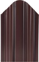 Штакетник металлический МКтрейд Константа Эконом 90x1200мм RAL 8017 (шоколадно-коричневый) -