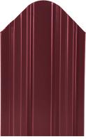 Штакетник металлический МКтрейд Константа Эконом 90x1500мм RAL 3005 (винно-красный) -
