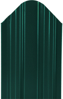 Штакетник металлический МКтрейд Константа Эконом 90x1700мм RAL 6005 (зеленый мох) -