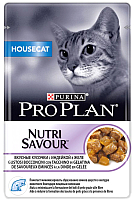 Корм для кошек Pro Plan Housecat с индейкой в желе (85г) -