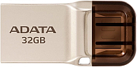 Usb flash накопитель A-data UC360 32GB Golden Retail (AUC360-32G-RGD) -