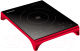 Электрическая настольная плита Oursson IP1220T (красный) -