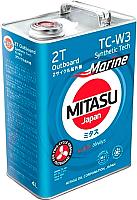 Моторное масло Mitasu Marine Outboard 2T / MJ-923-4 (4л) -