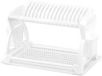 Сушилка для посуды Эльфпласт EP065 (белый) -
