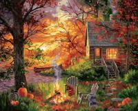 Картина по номерам PaintBoy Загородная осень / GX35711 -