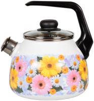 Чайник со свистком СтальЭмаль Fernanda 1RC12 -