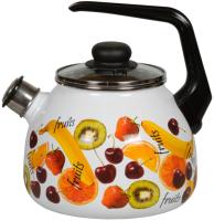 Чайник со свистком СтальЭмаль Fruits 1RC12 -
