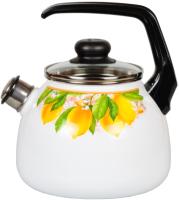 Чайник со свистком СтальЭмаль Limon 1RC12 -