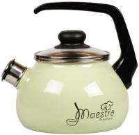Чайник со свистком СтальЭмаль Maestro 1RC12 (салатовый) -
