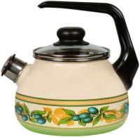 Чайник со свистком СтальЭмаль Oliva 1RC12 -