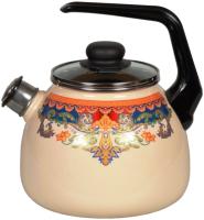 Чайник со свистком СтальЭмаль Ornamento 1RC12 -