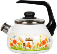 Чайник со свистком СтальЭмаль Голландский 4с210я -