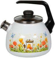 Чайник со свистком СтальЭмаль Голландский 4с209я -