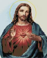 Набор алмазной вышивки PaintBoy Иисус Христос / GF333 -