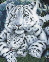 Набор алмазной вышивки PaintBoy Нежная хищница / GF411 -
