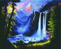 Набор алмазной вышивки PaintBoy Горный водопад / GF970 -