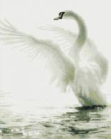 Набор алмазной вышивки PaintBoy Лебедь / GF1485 -