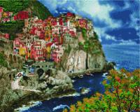 Набор алмазной вышивки PaintBoy Итальянское побережье / GF4526 -