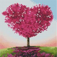 Набор алмазной вышивки PaintBoy Дерево любви / HF023 -