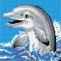 Набор алмазной вышивки PaintBoy Дельфин / BF022 -