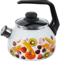 Чайник со свистком СтальЭмаль Fruits 1RA12 -