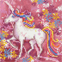 Набор алмазной вышивки PaintBoy Единорог / BF1093 -