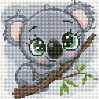 Набор алмазной вышивки PaintBoy Милая коала / BF1163 -