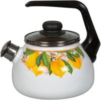 Чайник со свистком СтальЭмаль Limon 1RA12 -