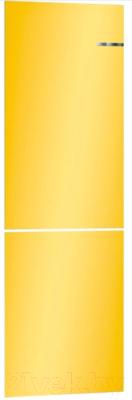 Холодильник с морозильником Bosch Serie 4 VitaFresh KGN39IJ22R (солнечно-желтый)
