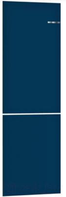 Холодильник с морозильником Bosch Serie 4 VitaFresh KGN39IJ22R (ночной синий)