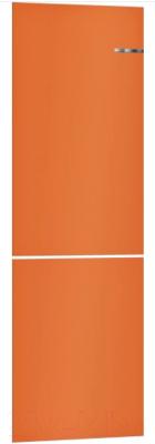 Холодильник с морозильником Bosch Serie 4 VitaFresh KGN39IJ22R (оранжевый)