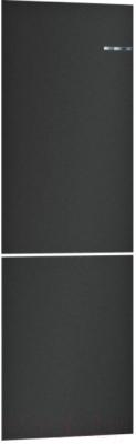 Холодильник с морозильником Bosch Serie 4 VitaFresh KGN39IJ22R (черный матовый)