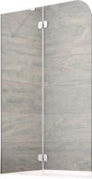 Стеклянная шторка для ванны Radaway Torrenta PND II 100 L / 12011202-101L -