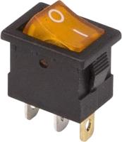Выключатель клавишный Rexant ON-OFF 36-2172 (желтый) -